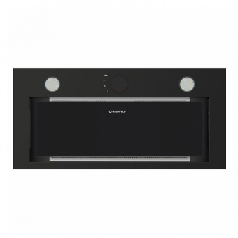 Кухонная вытяжка Maunfeld Crosby Rocky 60 Black Glass  Фото в интернет магазине MiriQ.RU
