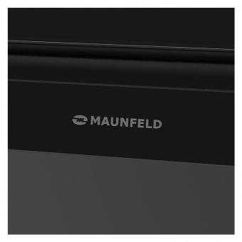 Кухонная вытяжка Maunfeld York Push 50 Black Glass  Фото в интернет магазине MiriQ.RU